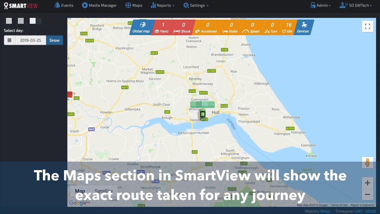 SmartView Cloud Software Offers Live Video Telematics & Complete Fleet  Control