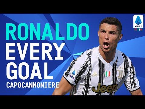 EVERY Cristiano Ronaldo Goal This Season! (All 29)   Top Scorer 2020/21   Serie A TIM