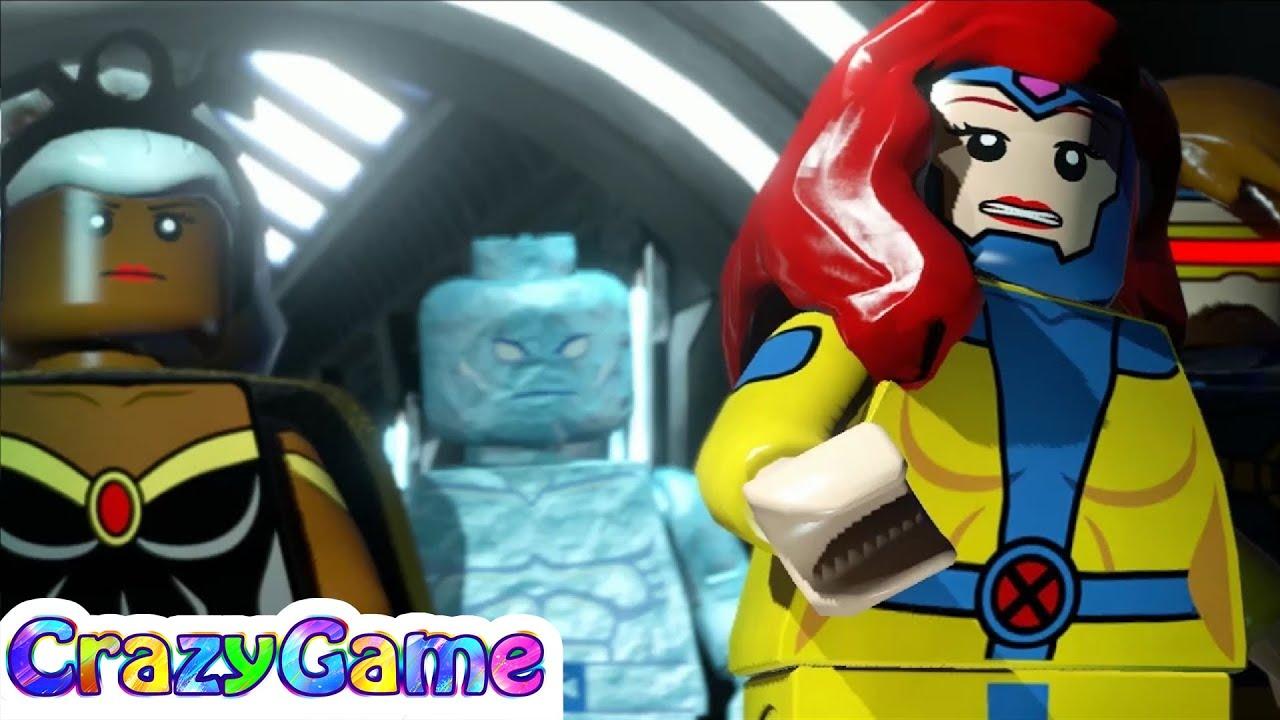 Lego Marvel Super Heroes 100% Guide #8 Juggernauts and ...