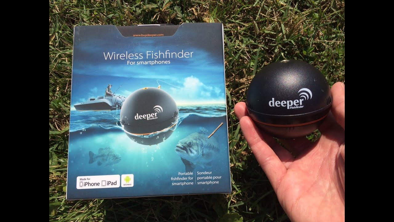 how to use a deeper smart fishfinder for bank fishing by, Fish Finder