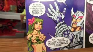 Terraria Comic Book Pack Figure Review (Platinum Armor Player and Dryad)
