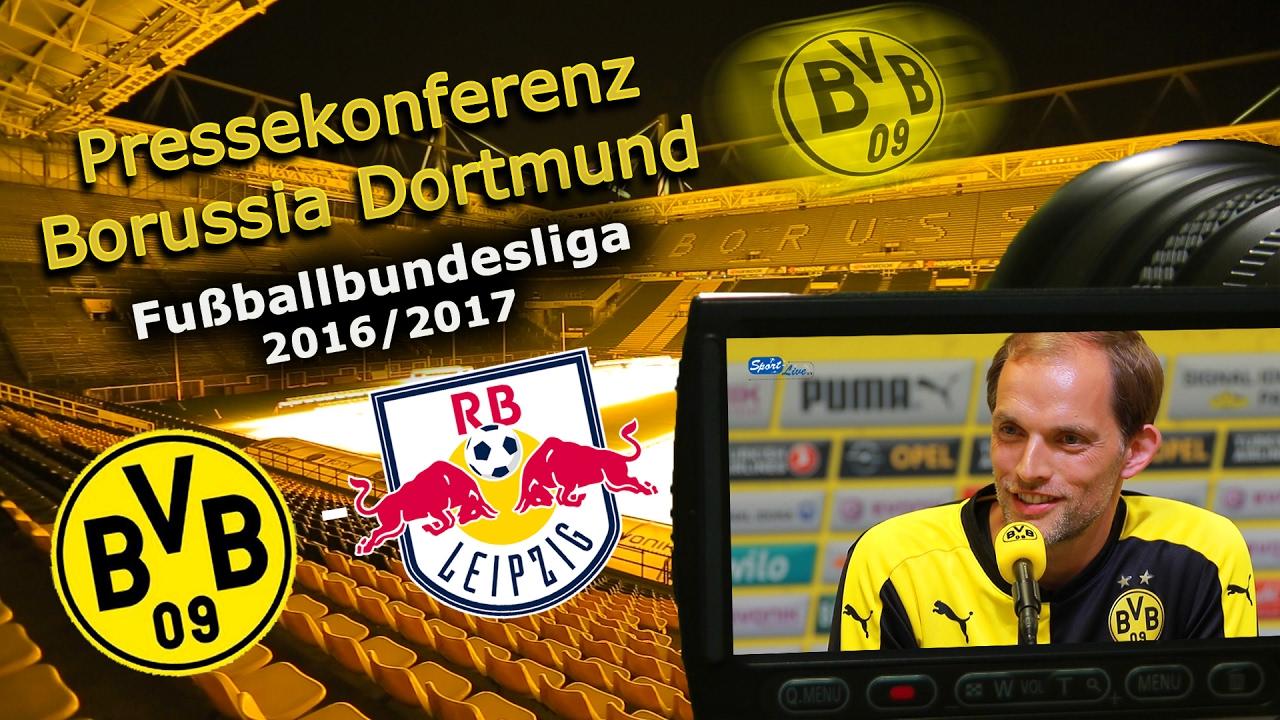 "Borussia Dortmund - ""Rasenball"" Leipzig: Pk mit Thomas Tuchel"