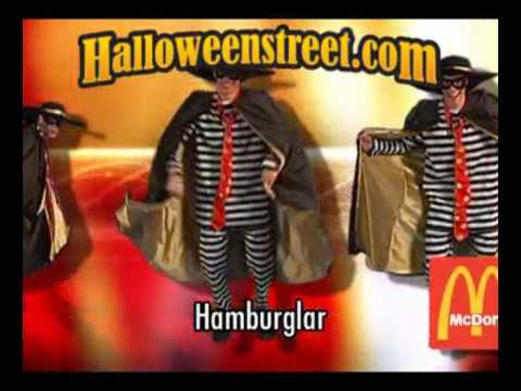 mcdonalds hamburglar halloween costume