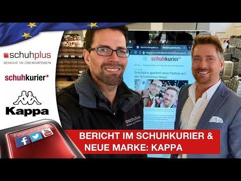 newest 9ced7 e6f83 Bericht über schuhplus im schuhkurier & Neue Marke eingetroffen: Kappa in  Übergrößen