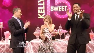 Kelly Ripa's Heartfelt Thank You - Sweet 15 Anniversary
