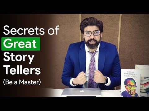 Art Of Storytelling — How To Tell Stories — Best Public Speaking Tips