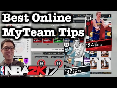 NBA 2K17 Tips How to pick and roll. Ruby Rik Smits & Diamond Jerry Lucas. 2K17 MyTeam Online