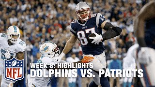 Dolphins vs. Patriots | Week 8 Highlights | NFL