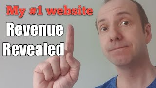 My Number 1 Niche Website | Behind The Scenes Look And Revenue Earnings