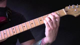 Zombie Guitar Tutorial by Jamie T