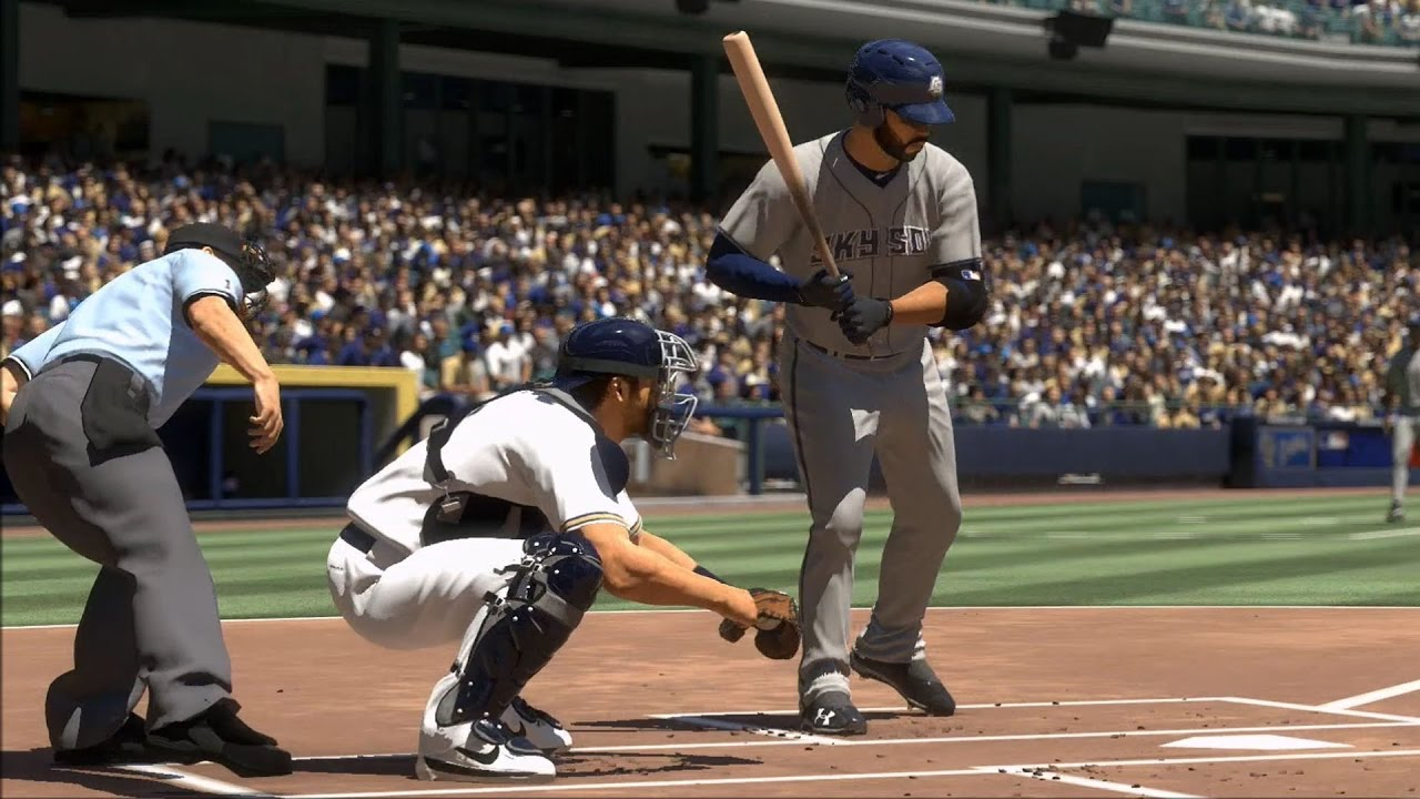 Mlb The Show 17 Colorado Springs Sky Sox Vs Milwaukee Brewers Gameplay Ps4 Pro Hd 1080p60fps
