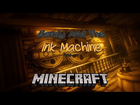 Bendy And The Ink Machine In Minecraft [addon] (Download Link In The Descriptions)