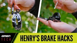 Henry's Disc Brake Hacks | Mountain Bike Brake Set Up Tips