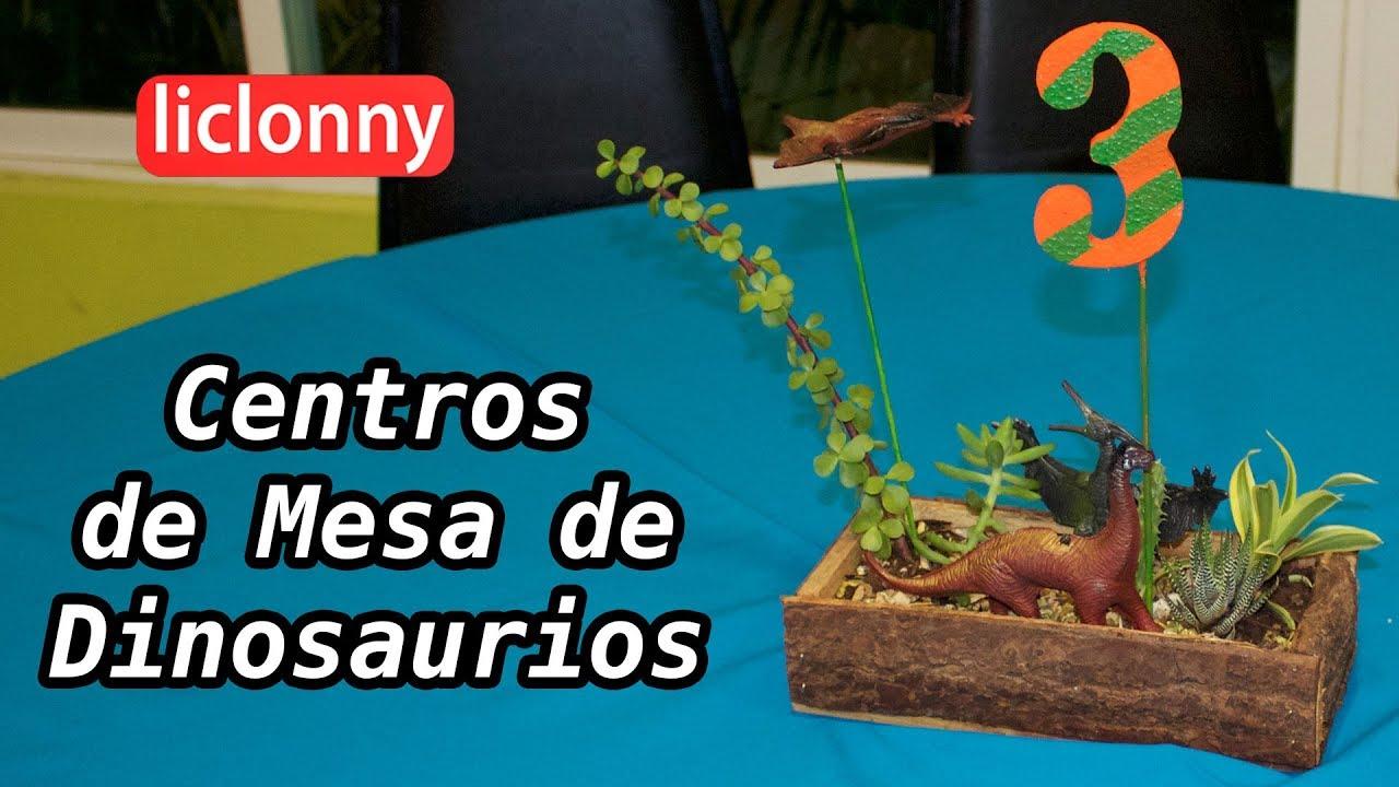 C mo hacer adornos de dinosaurios para fiestas infantiles - Como hacer adornos para fiestas ...