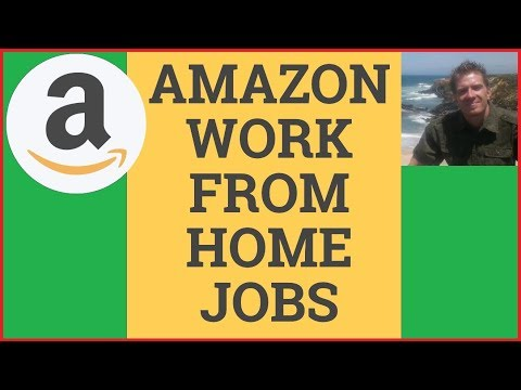 Amazon Work From Home Jobs 2019 🏠 [TOP 5] 🏠