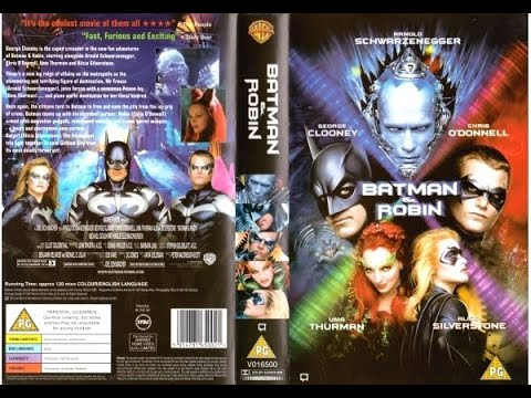 Original VHS Opening: Batman & Robin (1997 UK Rental Tape)