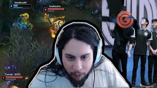Imaqtpie Reacts To Sneaky Teemo | Tsm Eliminated | Shiphtur | Tobias Fate | LoL Moments