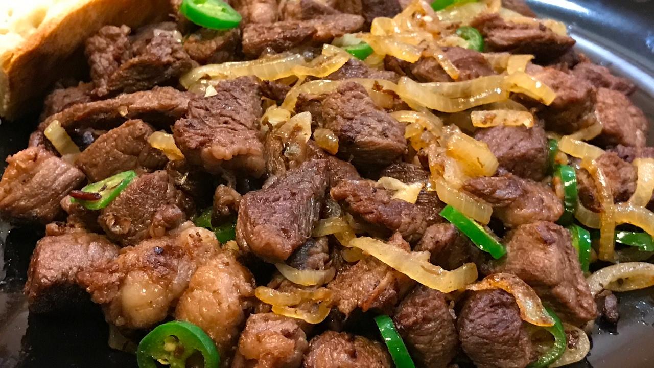 Tibs - Amazing Ethiopian dish   Cooking With Mali