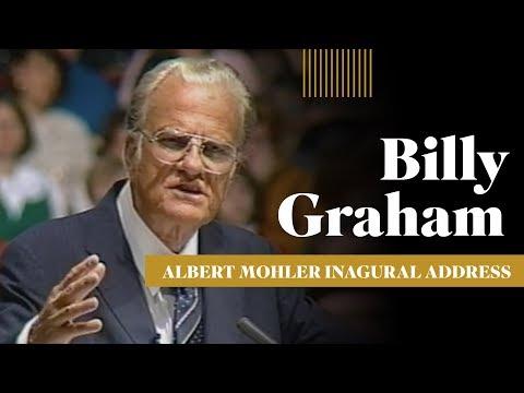 Billy Graham's Address for the Inauguration of R. Albert Mohler Jr.