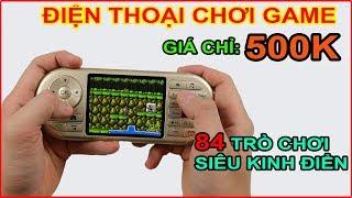 Mở hộp Điện thoại chuyên chơi game 4 nút giá 500k trên LAZADA, SHOPEE | MUA HÀNG ONLINE