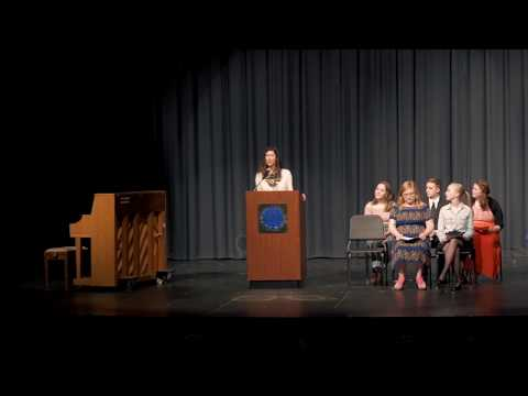 Kettle Moraine High School Tri-M Induction Ceremony 2018
