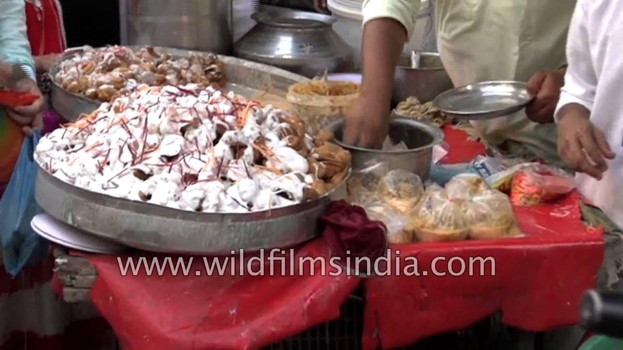 Dahi Vada Street Foods During Eid Ul Azha In India