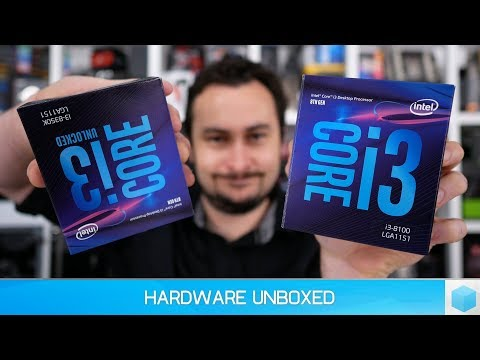 Intel Core i3-8100 & 8350K Review: RIP Ryzen 3?