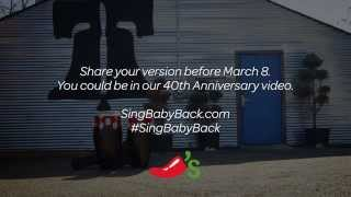 Sing Along With Chili's Baby Back Ribs