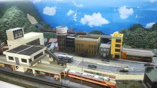 鉄道模型旧レイアウト(その2)通過待避