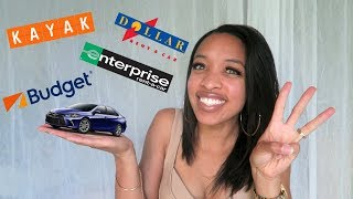 HOW TO FIND A RENTAL CAR FOR CHEAP | TRAVEL HACKS & TIPS