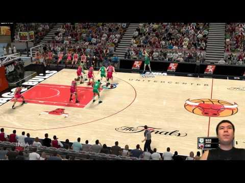NBA 2K14 - Ron Harper's NARROW Alley Oop