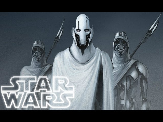 General Grievous After Revenge Of The Sith Star Wars Explained Youtube