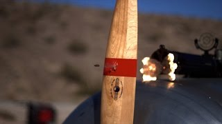 bullets vs propeller in slow motion the slow mo guys