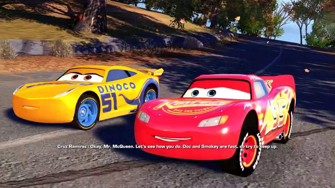 Cars 3 Driven To Win All Cutscenes The Movie Youtube
