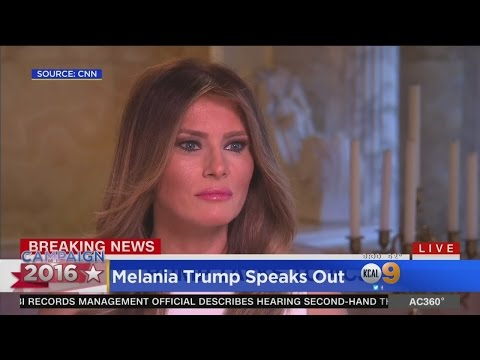 Melanie Trump Addresses Tape While More Clinton-Related Emails Come Out