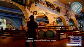 FINAL FANTASY XV Search For Weskham's bar