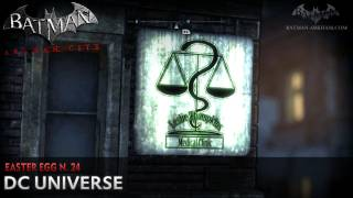 Batman: Arkham City - Easter Egg #24 - DC Universe