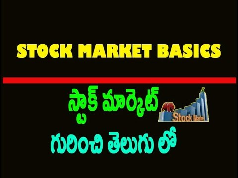 Stock market basics for beginners india in telugu