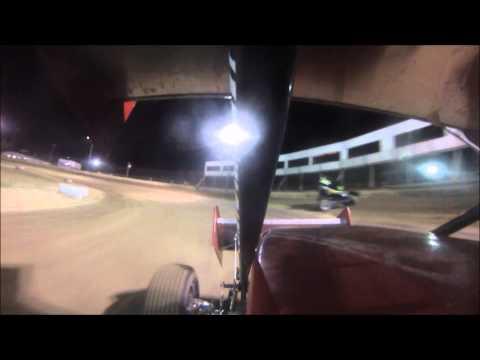 Perricone USCS Jackson Motor Speedway Heat Race