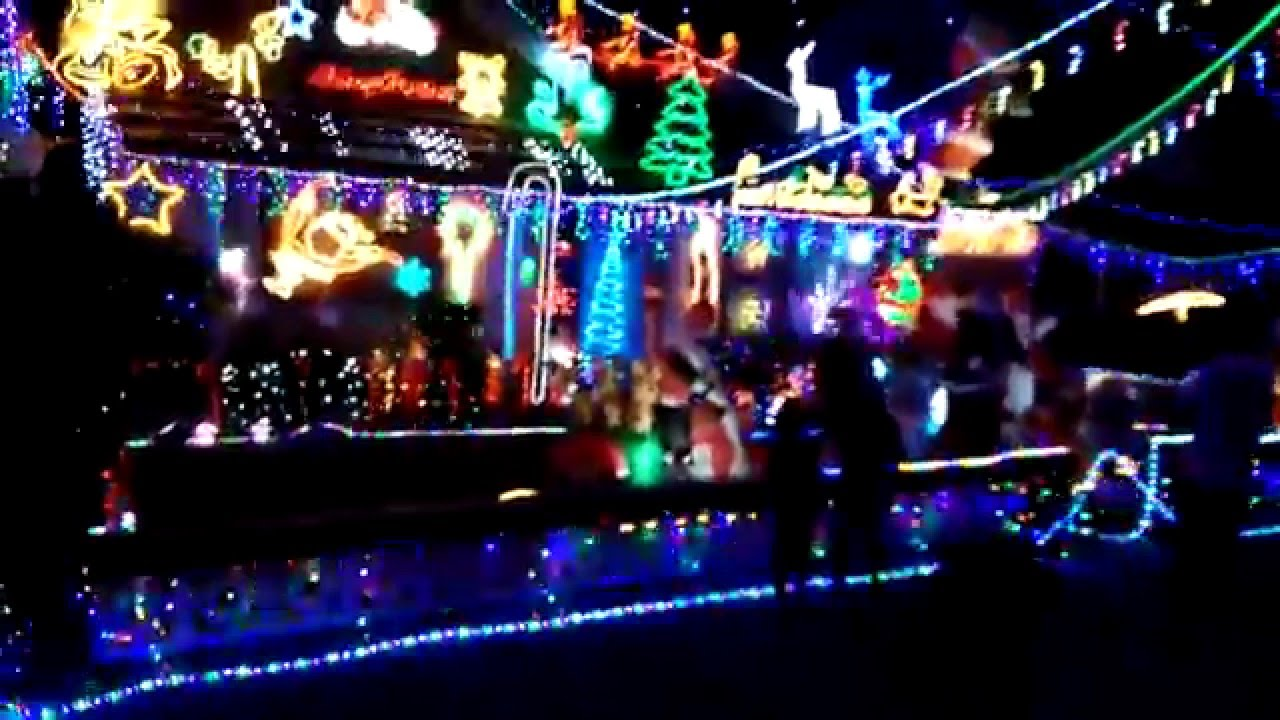 2014 Christmas Lights Voted Best Display In Sydney And Australia 11 Mcdonald Street Berala Nsw Youtube