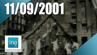 11 septembre l'attentat du Pentagone, les images des pompiers | Archive INA