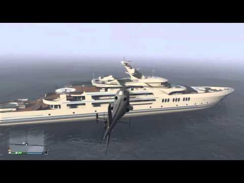 GTA V Online Yacht Colors