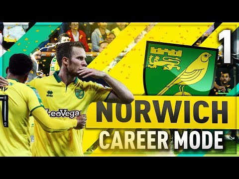 FIFA 18 | NORWICH CAREER MODE | NEW TRANSFERS!!!!!  [1]