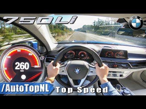 BMW 7 Series 2019 750i 4.4 V8 BiTurbo 261km/h AUTOBAHN POV By AutoTopNL