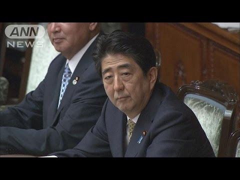 安倍総理「丁寧な説明」 安保法案が参院で審議入り(15/07/27)