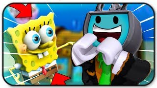 Getting A Job Mit SpongeBob bei der Krusty Krabbe - Roblox Fast Food Simulator