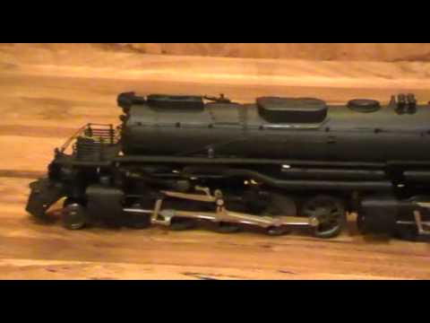 some of my steam locomotive ho scale big boy challenger penssy k-4 pacific
