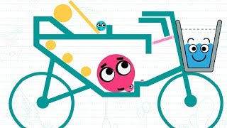 Happy Glass vs Love Ball - Gameplay Walkthrough - Daily Challenge Bicycle (iOS/Android)