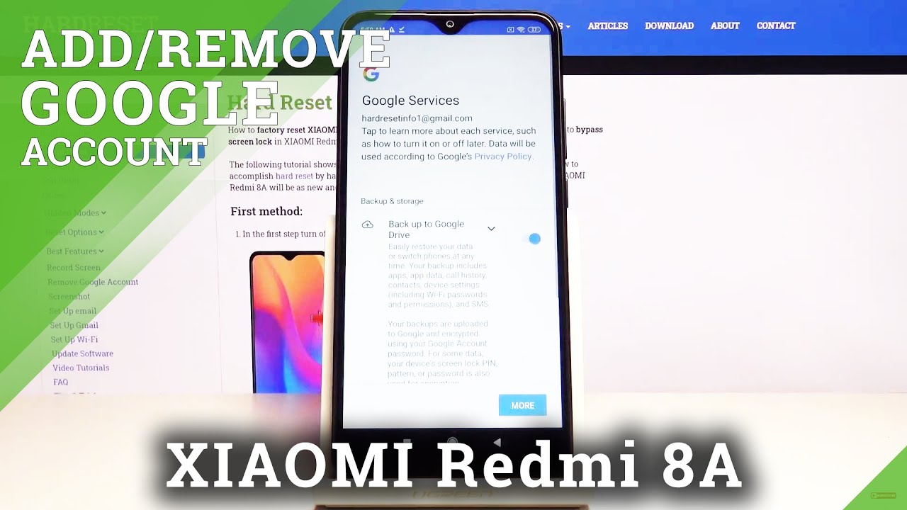 Google Play Konto ändern How To Add And Remove Google Account In Xiaomi Redmi 8a – Mange Google Account - Youtube