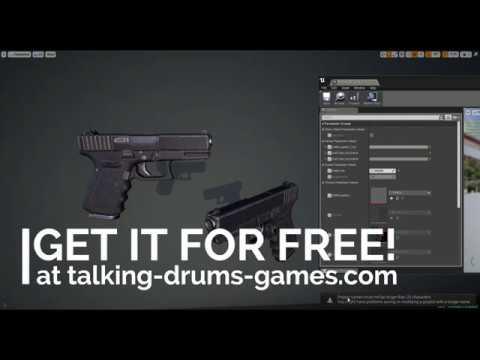 !Free Gun for Unreal Engine 4!